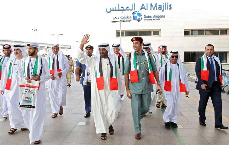45 UAE National Day Dubai Airports