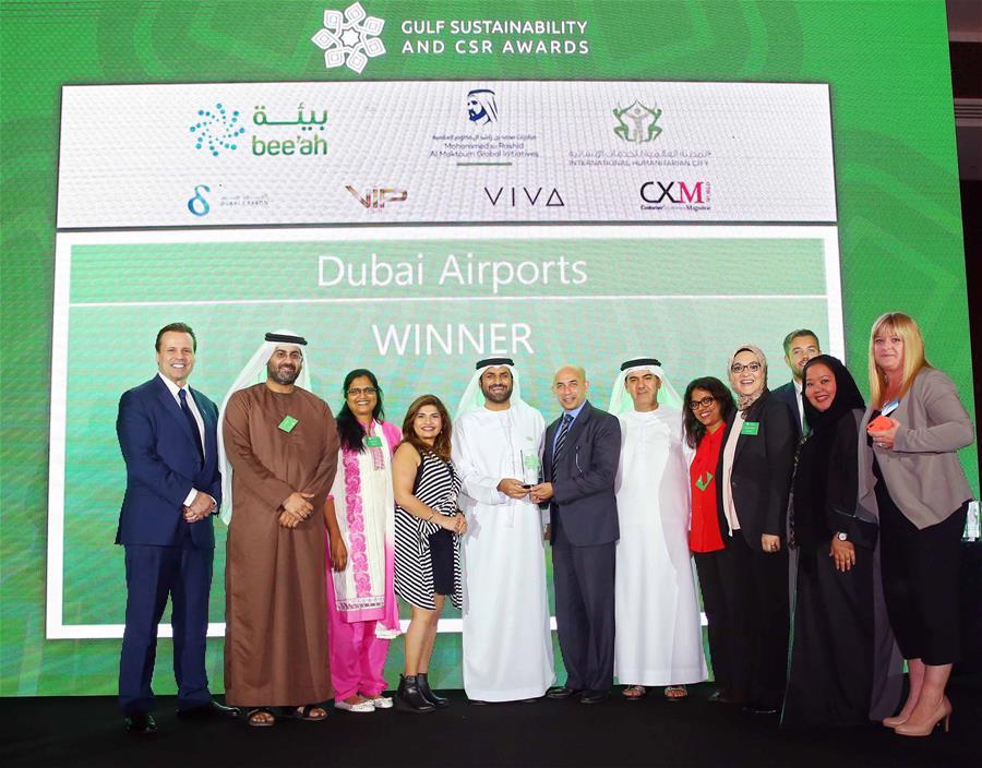 Dubai Airports wins Four International CSR Awards