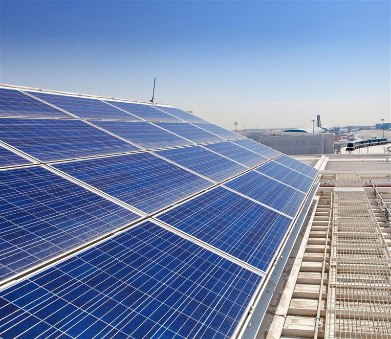 DXB Concourse D Solar Array